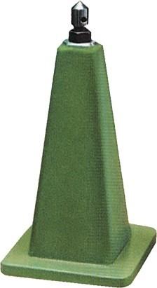 Abbildung: Stützbock mit Verstellspindel 500 - 550 mm (Das Bild kann vom Original geringfügig abweichen.)
