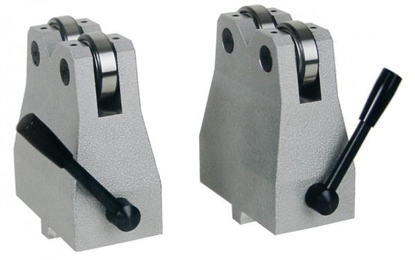 Abbildung: Abrollböcke Paar für Werkstücke Ø 25 - 100 mm (Das Bild kann vom Original geringfügig abweichen.)