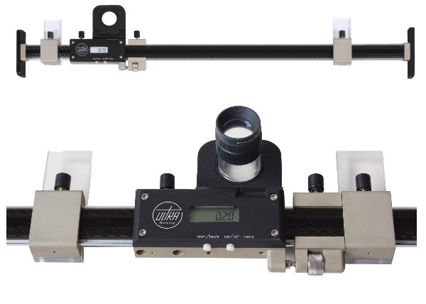 Abbildung: Digitaler Längenmmaßstab IP67 0 - 750 mm (Das Bild kann vom Original geringfügig abweichen.)