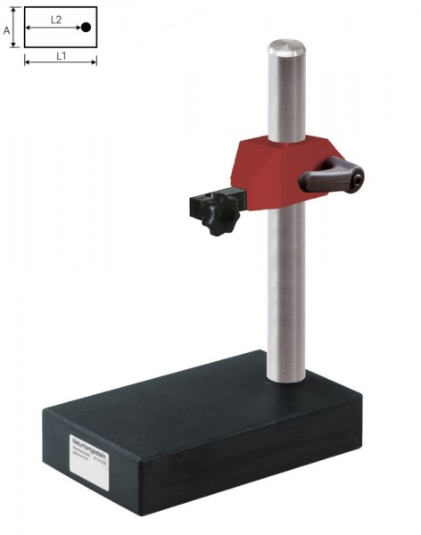 Abbildung: Feinmesstisch mit Hartgestein-Messfläche DIN 876/00 100 mm x 170 mm (Das Bild kann vom Original geringfügig abweichen.)