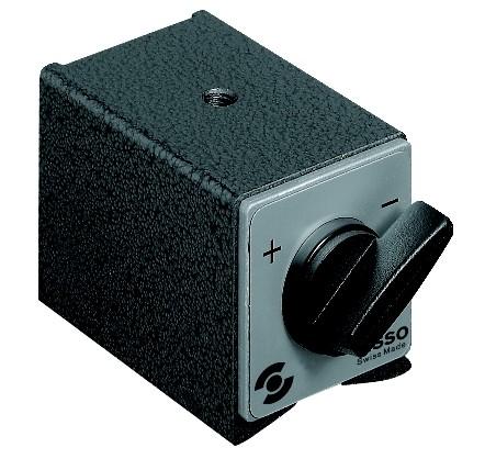 Abbildung: Fisso Schaltmagnetfuß S2 34 x 30 x 35 mm (Das Bild kann vom Original geringfügig abweichen.)