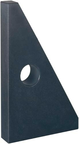 Abbildung: Winkelnormal 90° Dreieckform Güte 00 400mm x 250mm x 50mm (Das Bild kann vom Original geringfügig abweichen.)