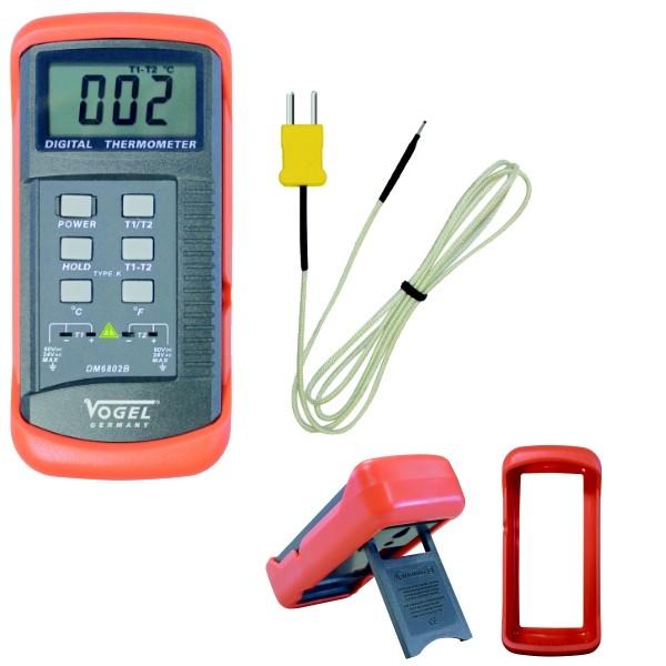 Abbildung: Digital - Temperaturmessgerät, mit Messfühler -50°C - +1300°C (Das Bild kann vom Original geringfügig abweichen.)