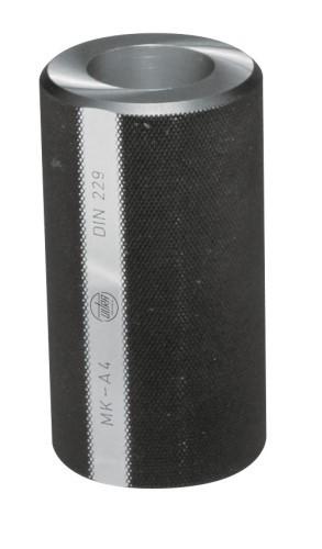 Abbildung: Kegellehre für Morsekegel Hülse kurz DIN 229 MK 6 (Das Bild kann vom Original geringfügig abweichen.)
