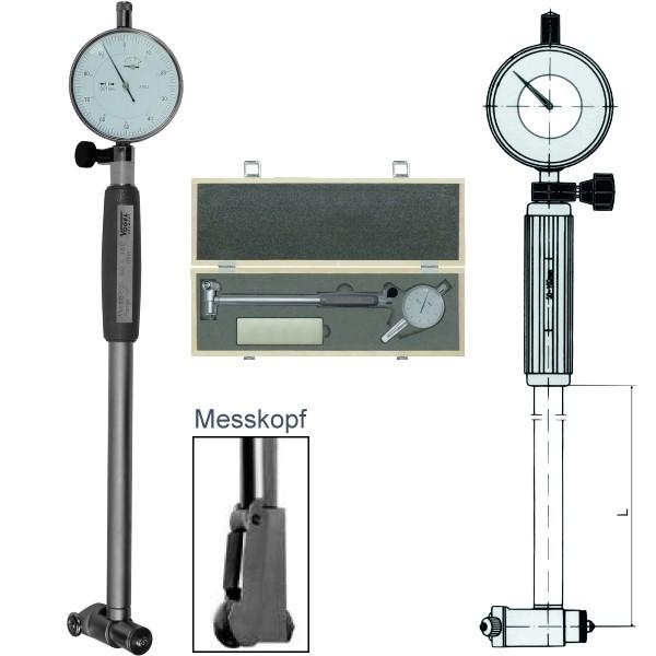 Abbildung: Innenfeinmessgeräte-Satz mit Messuhr 18 - 35 mm (Das Bild kann vom Original geringfügig abweichen.)