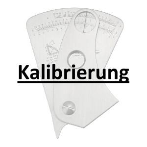 Abbildung: Kalibrierung inkl. Zertifikat Schweißnahtlehre R841101 (Das Bild kann vom Original geringfügig abweichen.)