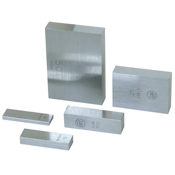 Abbildung: Parallel-Endmaß einzeln aus Hartmetall, Güte 1 1,0 mm (Das Bild kann vom Original geringfügig abweichen.)