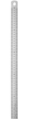 Abbildung: Starrer Rostfreier Stahlmaßstab EG II, Lasergravur 1500 x 30 x 2.0 mm (Das Bild kann vom Original geringfügig abweichen.)