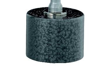 Abbildung: Fisso Topf-Magnetfuß TM Ø 40 mm x 30 mm (Das Bild kann vom Original geringfügig abweichen.)