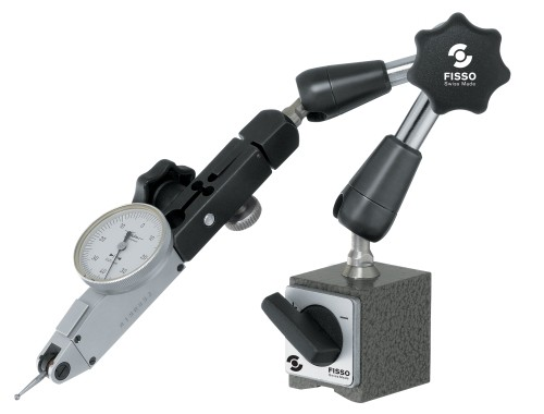 Abbildung: Magnet Gelenkstativ Fisso CLASSIC-LINE 1100-13 Höhe: 220 mm (Das Bild kann vom Original geringfügig abweichen.)