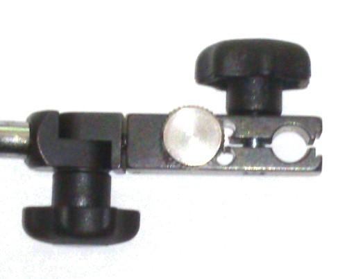 Abbildung: Fisso Mikro-Feineinstellung für Base-Line 8mm / M6 (Das Bild kann vom Original geringfügig abweichen.)