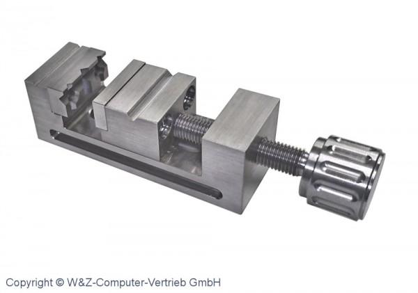 Abbildung: Mini- Schraubstock Größe 2 INOX 75 mm x 25 mm x 25 mm (Das Bild kann vom Original geringfügig abweichen.)