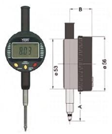 Abbildung: Digitale Kleinmessuhr 0 - 25,4 mm (Das Bild kann vom Original geringfügig abweichen.)